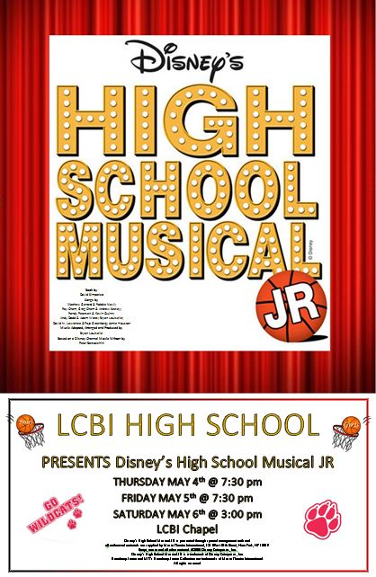Spring Musical Poster